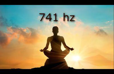 741 hz élimine les toxines et la négativité, nettoie l'aura, l'éveil spirituel, les bols tibétains