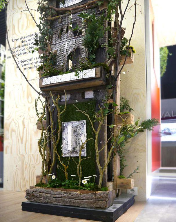 # art déchets BTP # artiste art et environnement # art et recyclage # art métamorphose# réduction des déchets