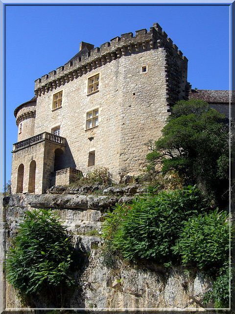 Diaporama château de Cabrerets