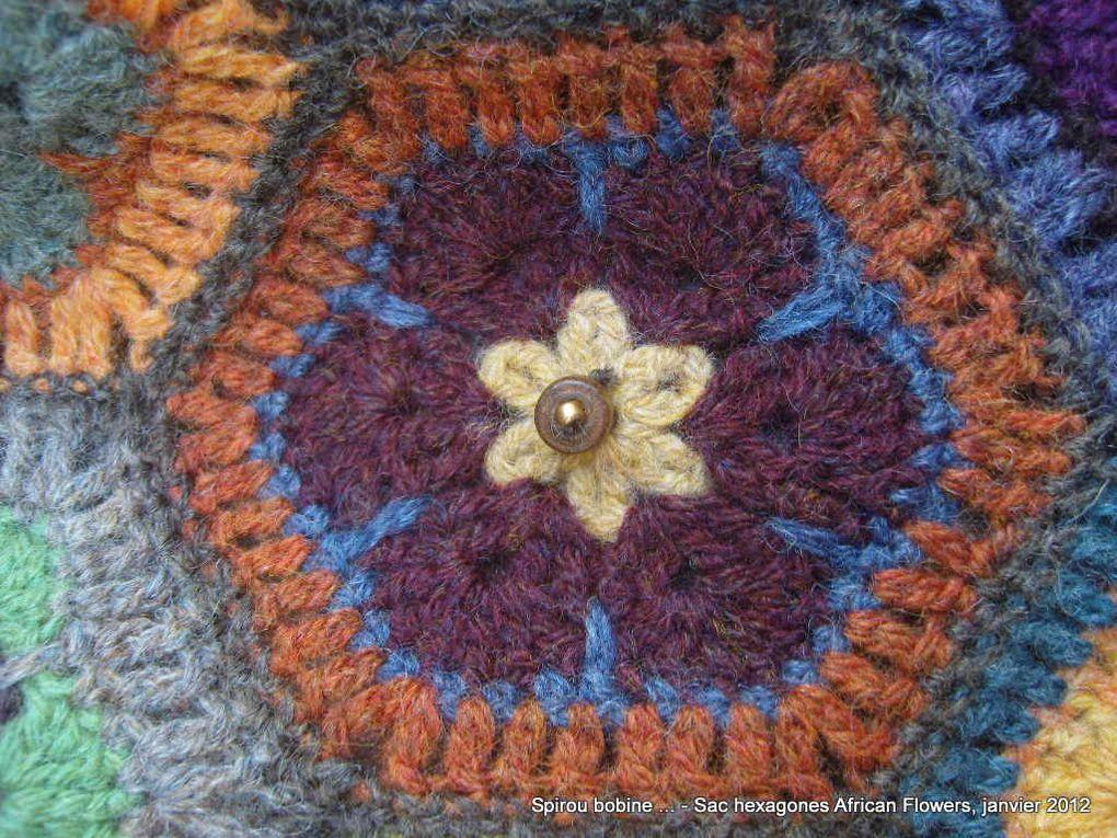 Album - Sac Hexagones African Flower