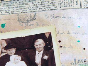 Mes grands-parents et Moi en 1952