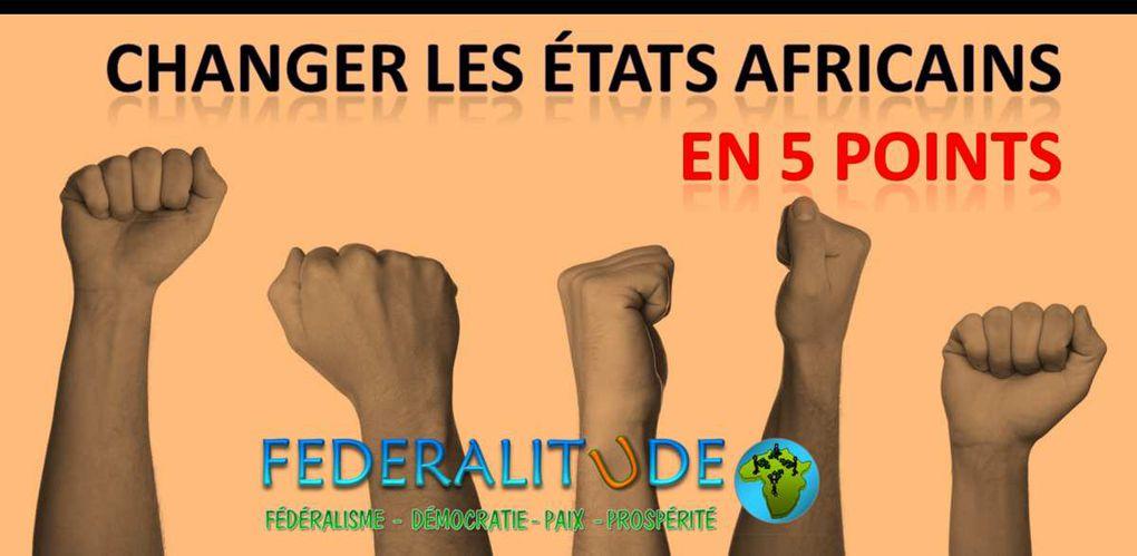 Changer les États africains en cinq points