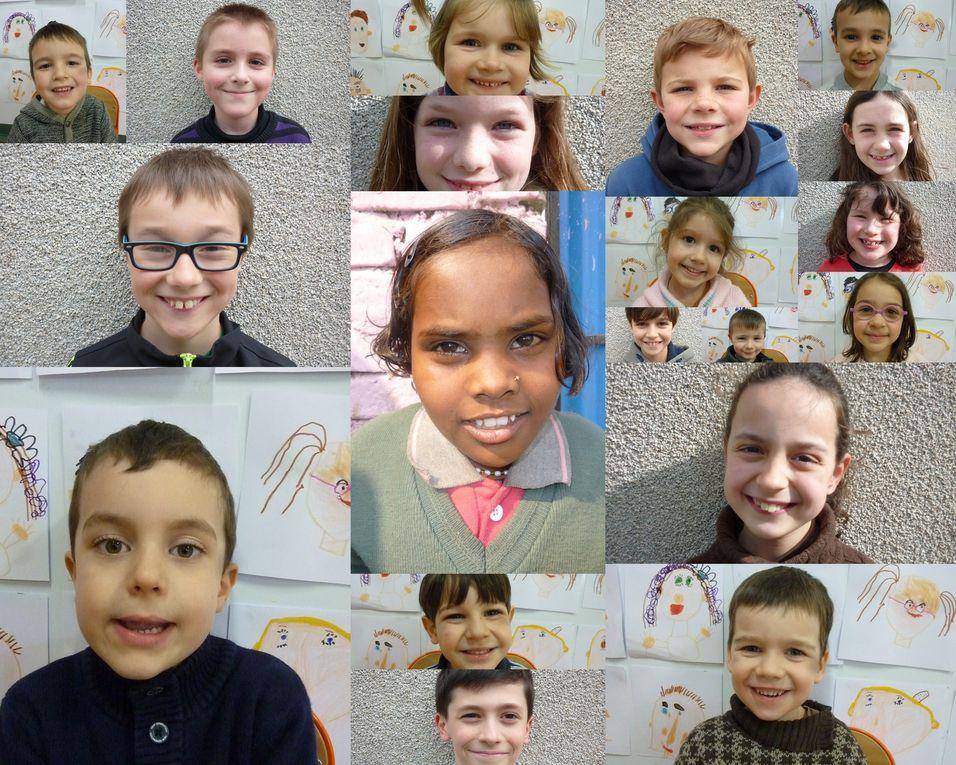 Les sourires de France et d'Inde