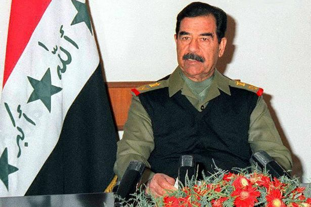 Saddam Hussein,his Last Words !!!!To the hell that is iraq!