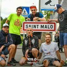 Run Trip Rennes - St-Malo par le canal d'Ile et Rance 109km