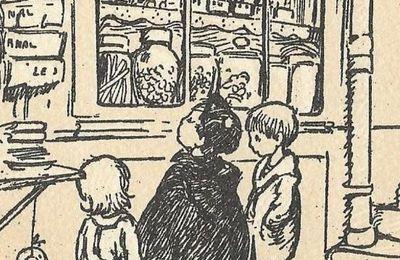 Pour un sou de friandises... en 1920
