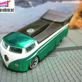 CUSTOMIZED VW DRAG TRUCK HOT WHEELS 1/64 - VW COMBI PICKUP DRAGSTER - car-collector.net