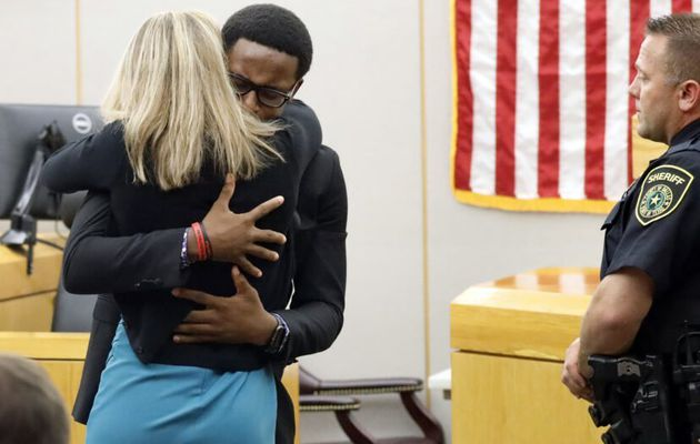 Brother Of Man Shot By Amber Guyger Reveals Reason Why He Hugged Her