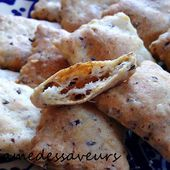 Recettes de biscuits salés - Le Sésame Des Saveurs