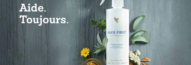 Votre trousse de premiers soins avec Aloe First®