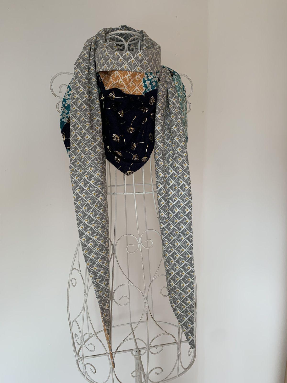 Jolis foulards de printemps Choupetta