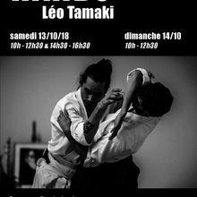 Léo Tamaki à Valence, 13 et 14 octobre 2018