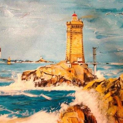 "04667 - Le phare ""la Vieille"""