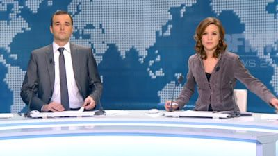 2013 01 12 - CELINE PITELET - BFM TV - WEEK-END PREMIERE @06H30