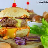 Burger Montagnard - Brian Iz In The Kitchen