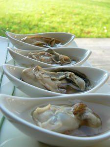 Huîtres en gelée