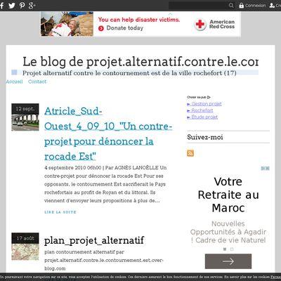 Le blog de projet.alternatif.contre.le.contournement.est.over