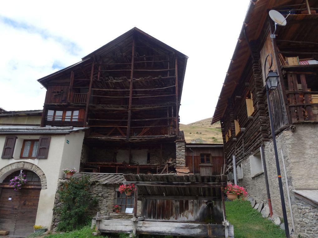 VTT en Queyras version tourisme au départ de Molines (31/08/2016)