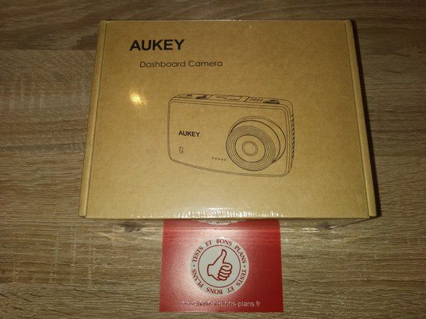 unboxing DashCam Full HD grand angle Aukey DRA1 @ Tests et Bons Plans
