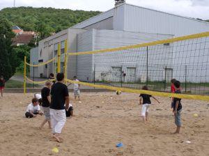 Les pieds dans le sable au Beach-Volley d'Algrange en 2011