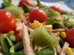 PETITE SALADE MINUTE COLOREE