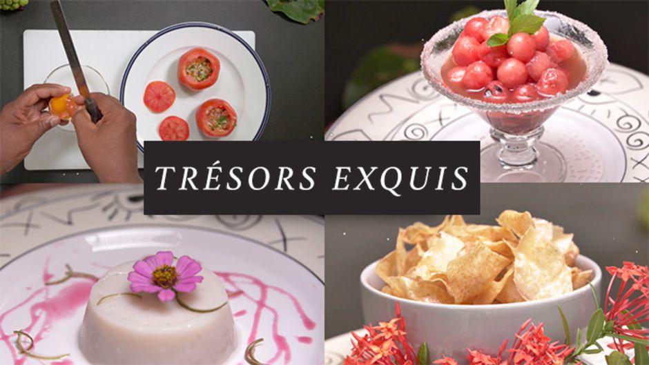 « Trésors Exquis », le nouveau rendez-vous culinaire de Martinique la 1ère !