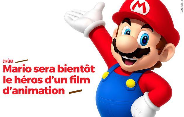 Mario sera bientôt le héros d'un film d'animation #Mario