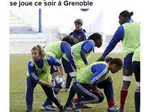 France-Angleterre 2-0 Masculin-Féminin : écrasante victoire des hommes !