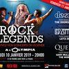Rock Legends double la mise à l'Olympia les 10 et 11 janvier 2019