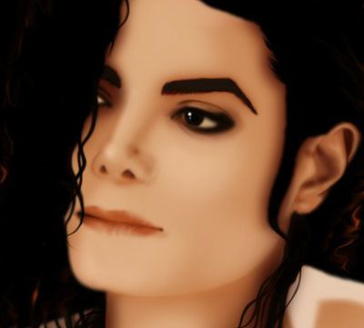 Michael Jackson Tribute - R.I.P. -Digital Portrait