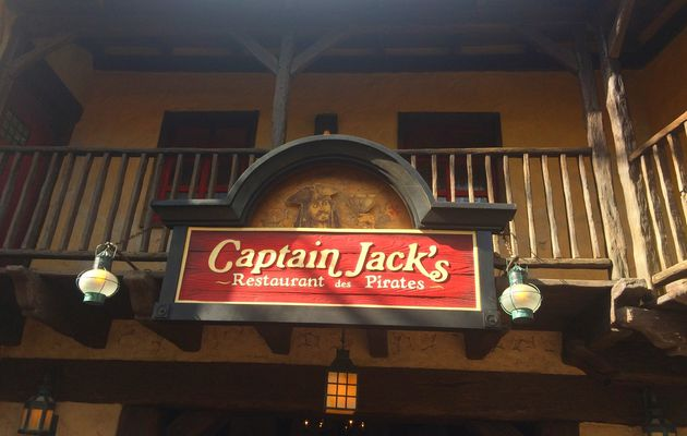 Le restaurant Captain Jack's à Disneyland Paris