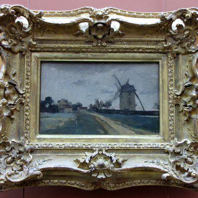 Camille Corot, Moulins à vent jumeaux sur la butte de Picardie (environs de Versailles)