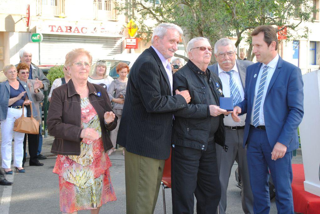 Cérémonie du 8 mai 2014 à Sorgues