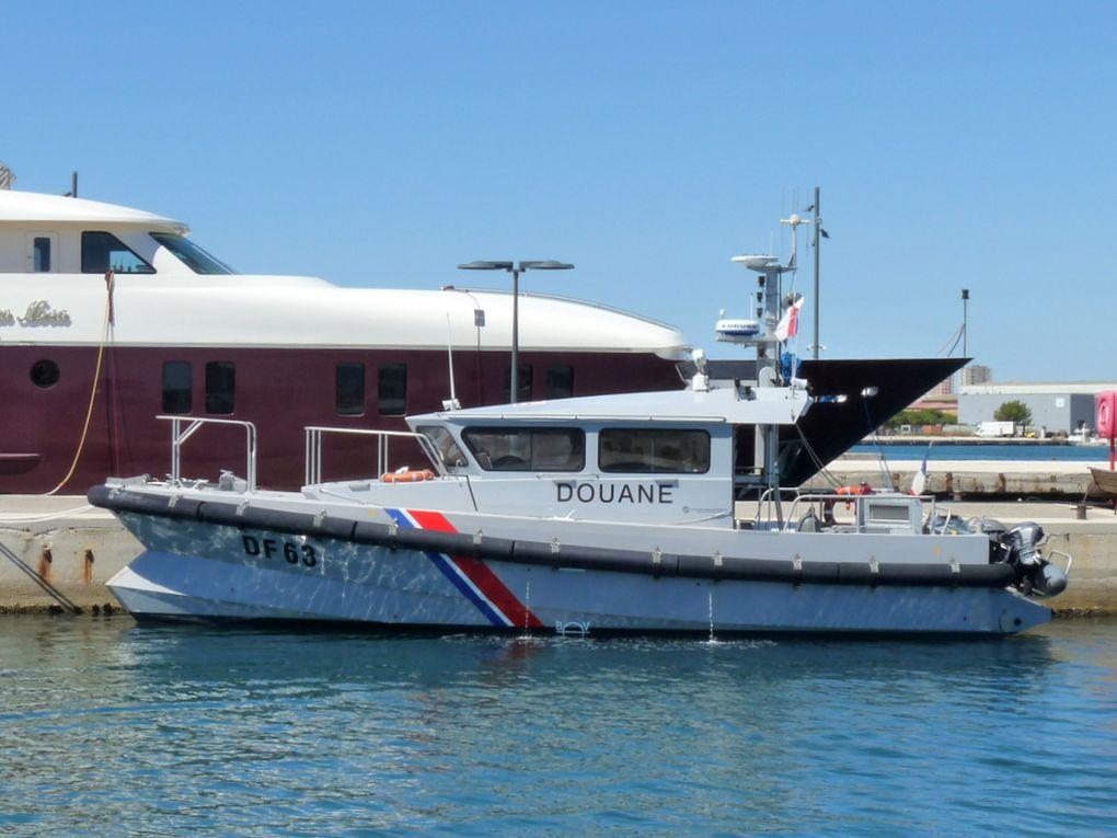 ARENC  DF 63 , vedette des douanes  a la Seyne sur Mer le 15 septembre  2016