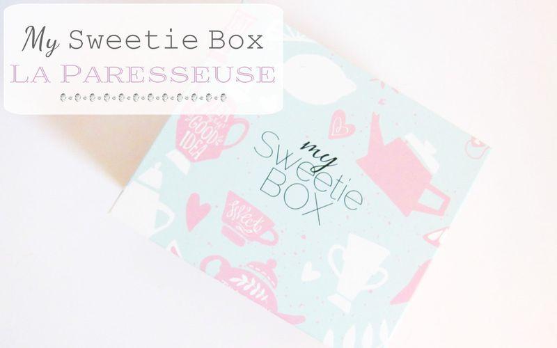 MySweetieBox ~ La Paresseuse ~ Trop belle box ce mois-ci !!
