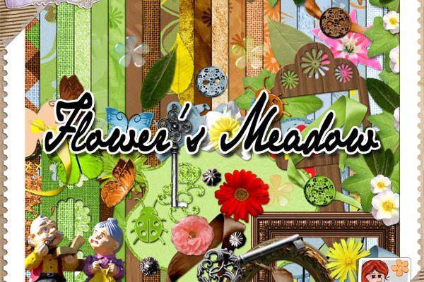 """Freebie : QP """"Flower's Meadow"""""""