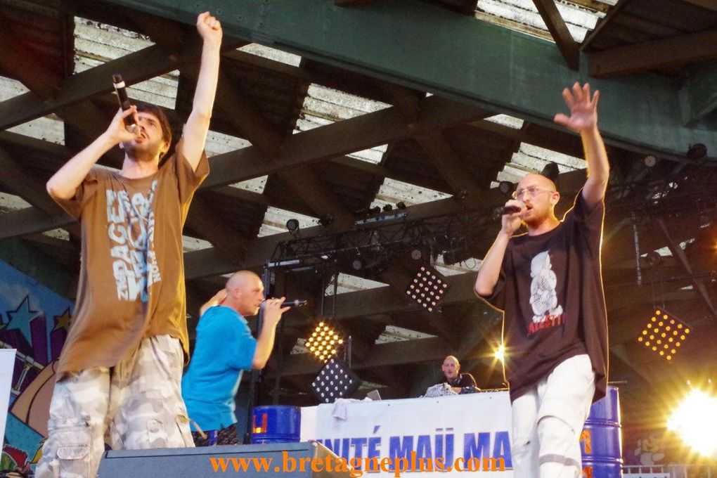 3ème et dernière journée du Festival Quartiers D' été 2013, ce jeudi 18 juillet.
