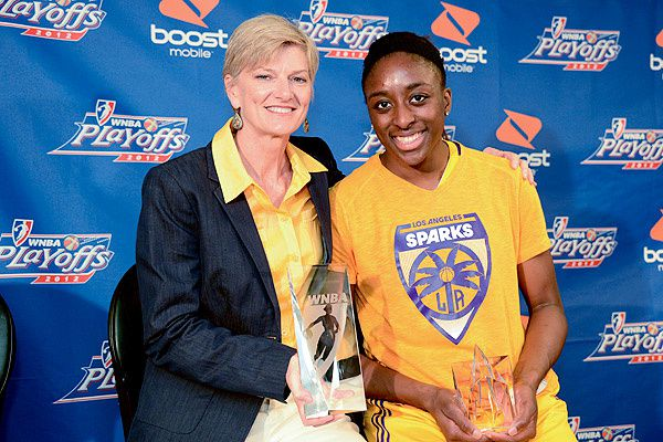 WNBA: Nneka Ogwumike nommée Rookie de l'année