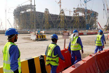 Qatar :6500 travailleurs immigrés morts sur les chantiers du Mondial 2022