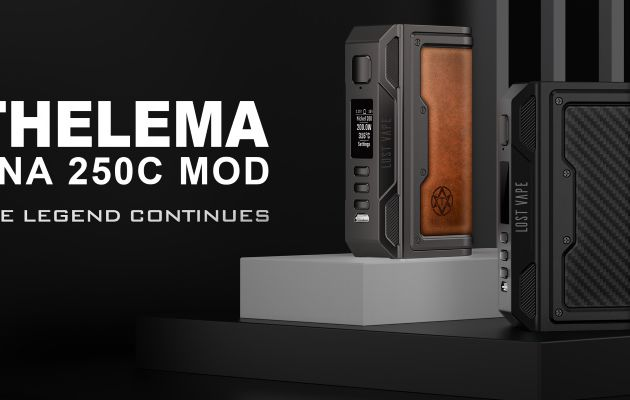Test - Box - Thelema DNA 250C de chez Lost Vape