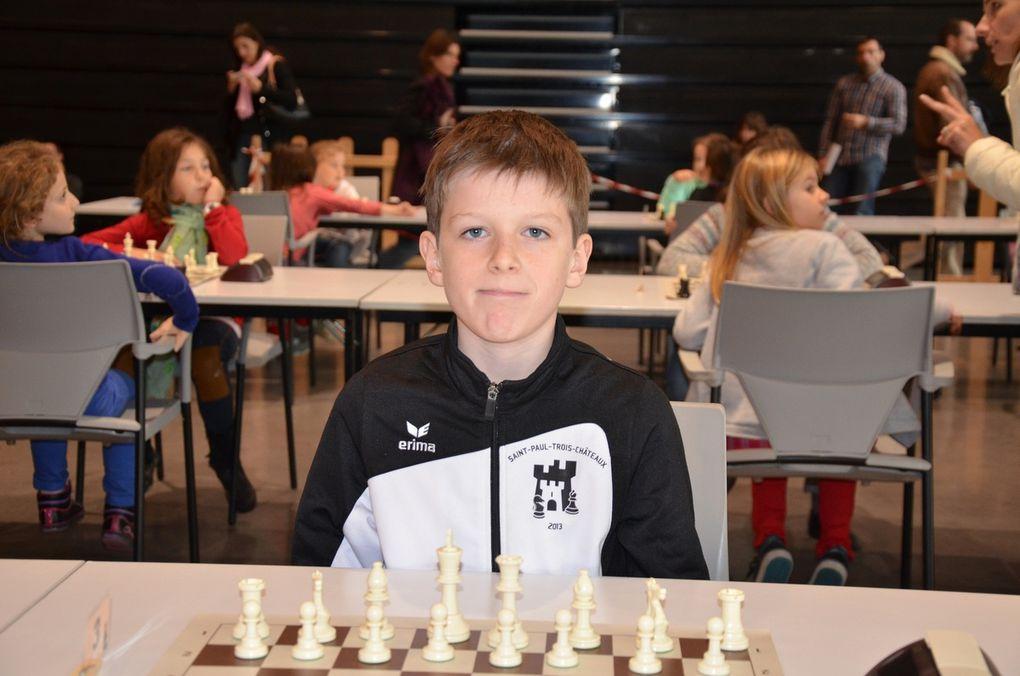Les jeunes joueurs d'échecs d'Orange et de St Paul Trois Châteaux aux Championnats de Vaucluse