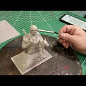 1/9 Mad Max Bust Kit Review Produced by Heng Hilger