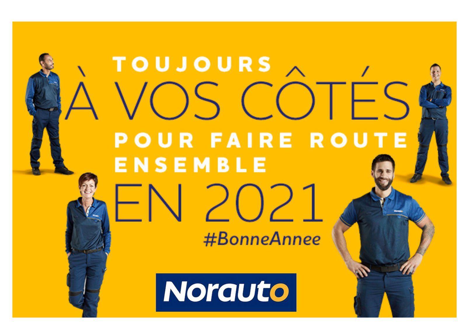 La CFE-CGC Norauto et IRP AUTO vous souhaitent une bonne année 2021 !