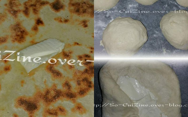 Cheese naan comme au restaurant
