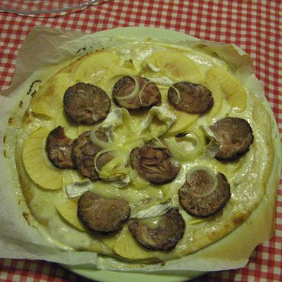 Pizza normande