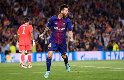 Messi Guides Barca Home