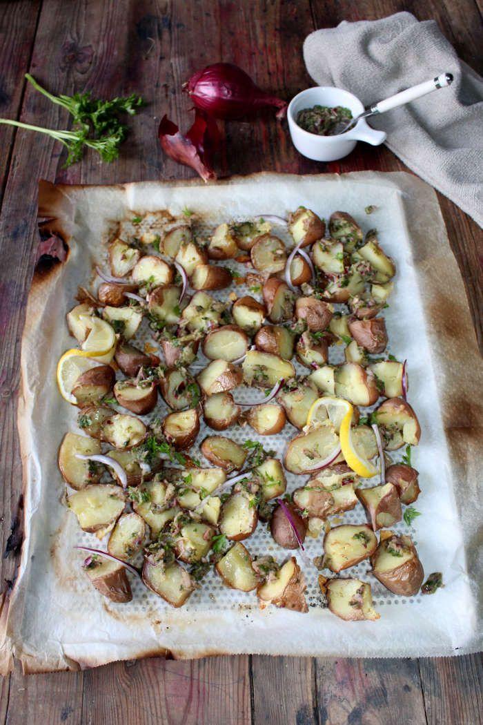 Pommes de terre  au chimichurri (+ idée menu)