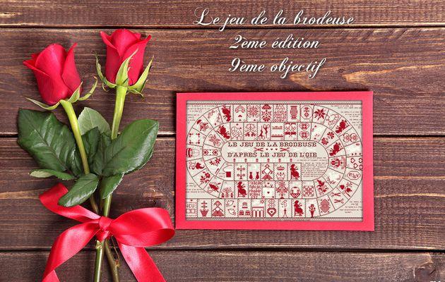 """SAL """"JEU DE LA BRODEUSE"""" de JL. GRANDSIRE 2ème EDITION - 9ème OBJECTIF TERMINE - 1 NOUVELLE PHOTO LE 20.09"""