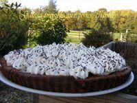 Gâteau fondant, aux poires, chantilly Jaclyne www.cuisineetgourmandise.fr