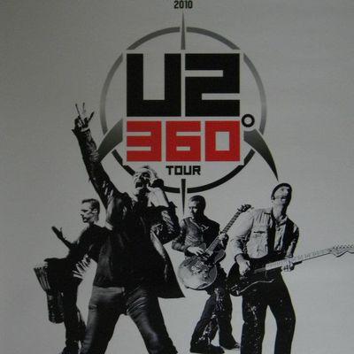 U2 -Affiche concert -Munich -Allemagne -15/09/2010 -Olympic Stadium